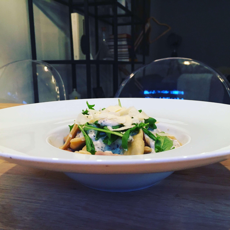 Fleurfood truffel ravioli