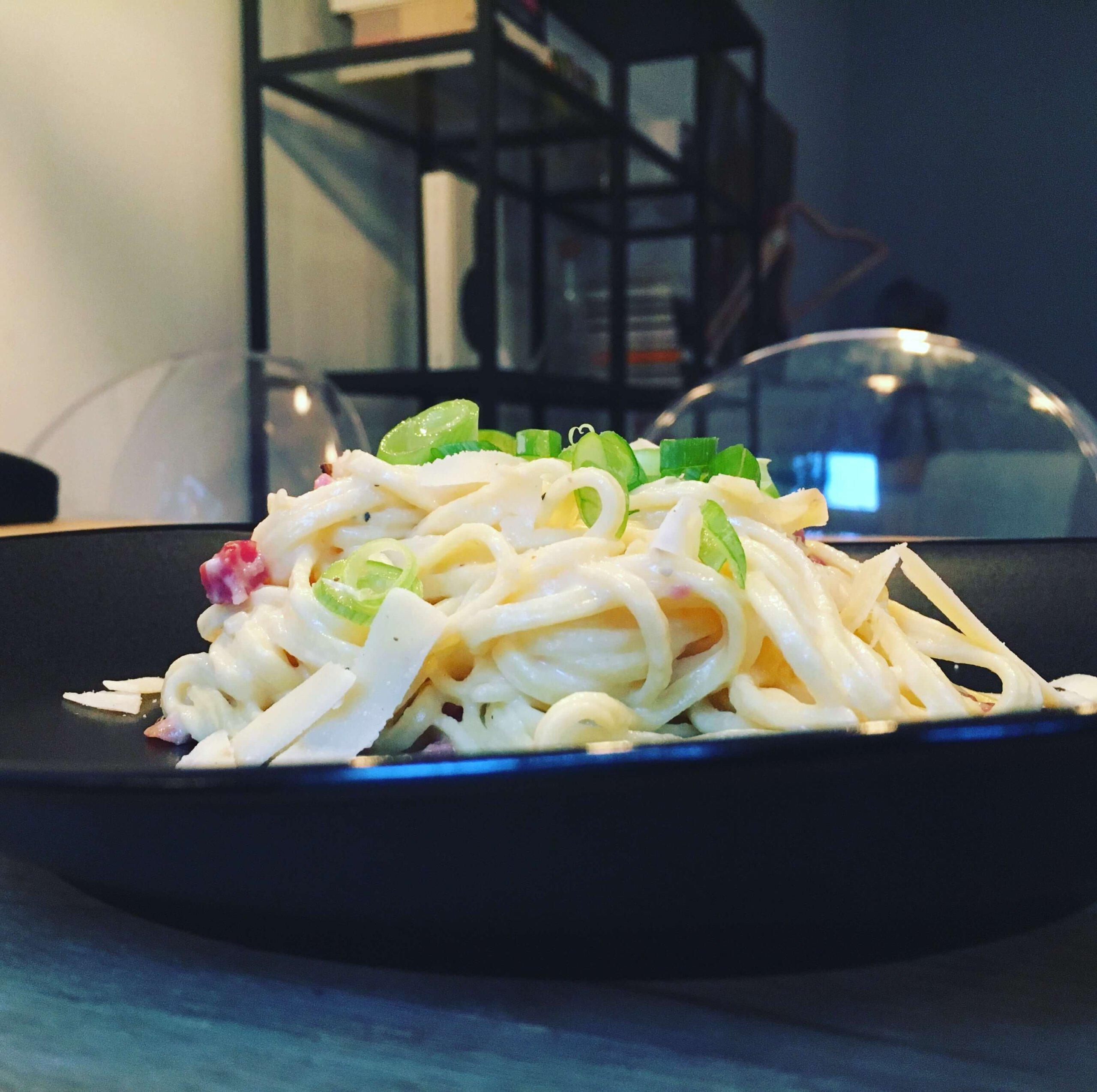 Spaghetti Carbonara FleurFood.nl